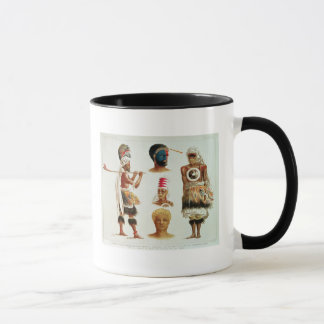 Various Dancing Costumes Worn at Nakello, Fiji Mug