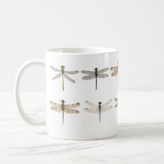 Various Dragonflies on a Mug
