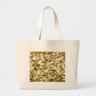 Various Eatable Seeds Canvas Bags