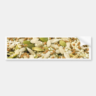 Various Eatable Seeds Bumper Stickers