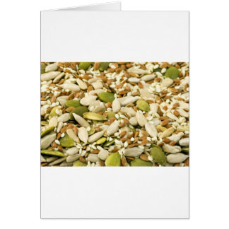 Various Eatable Seeds Cards