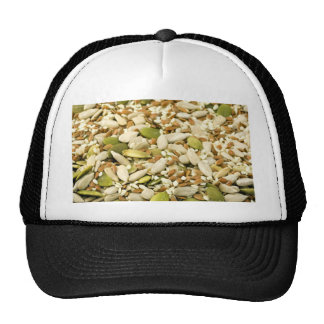 Various Eatable Seeds Mesh Hats