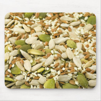 Various Eatable Seeds Mouse Pad