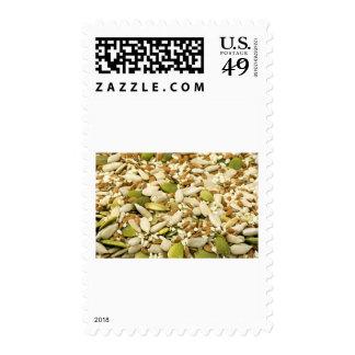 Various Eatable Seeds Postage Stamp