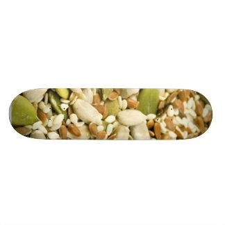 Various Eatable Seeds Skate Board Decks