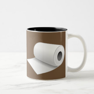 Various effects of coffee Two-Tone coffee mug