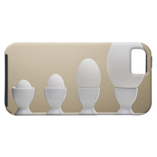 Various eggs in egg cups iPhone 5 case