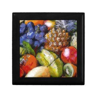 VARIOUS FRUITS KEEPSAKE BOXES