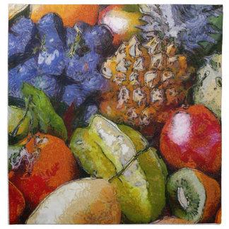 VARIOUS FRUITS NAPKIN