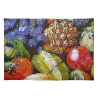 VARIOUS FRUITS PLACE MATS