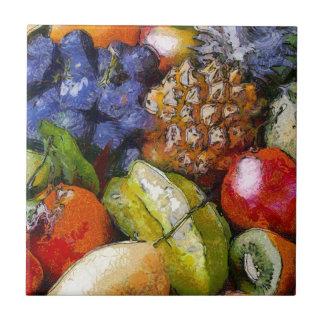 VARIOUS FRUITS CERAMIC TILES