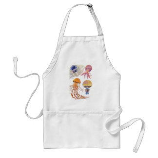 Various Jelly Fish Adult Apron