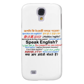 Various Language Products - Speak English? Galaxy S4 Cover