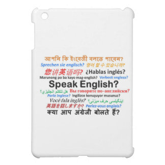 Various Language Products - Speak English? Case For The iPad Mini