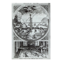 Various methods of observing sunspots poster