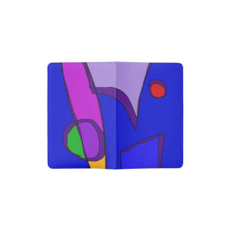 Various Mirrors in Blue Pocket Moleskine Notebook