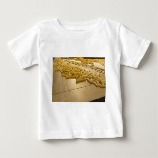 Various mix of fresh italian homemade pasta baby T-Shirt