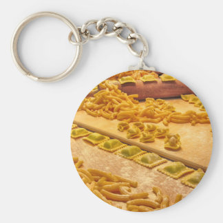 Various mix of fresh italian homemade pasta keychain