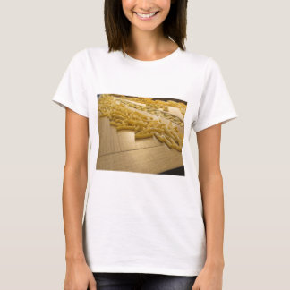 Various mix of fresh italian homemade pasta T-Shirt