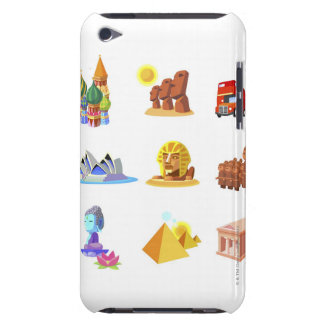 Various monuments of world barely there iPod cover