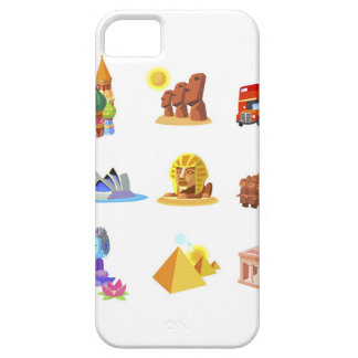 Various monuments of world iPhone 5 cases