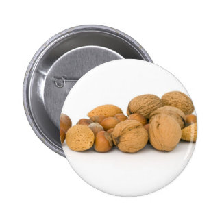 Various Nuts Including Hazelnuts Walnuts And Almon Button