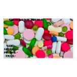 Various pill/medicament business card template