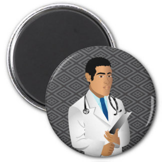 Various products for medical or science fields. 2 inch round magnet