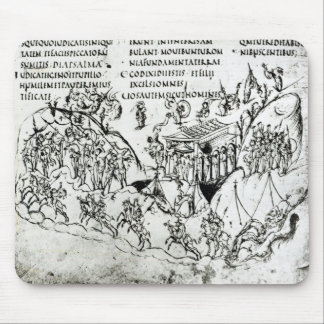 Various scenes illustrating a psalm 2 mouse pad