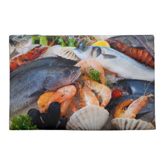 Various Seafood Travel Accessories Bag