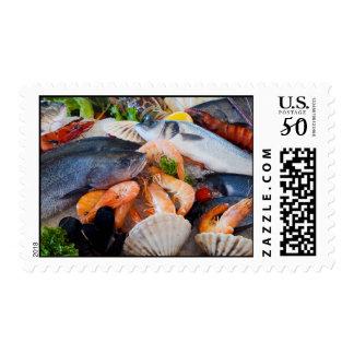 Various Seafood Postage