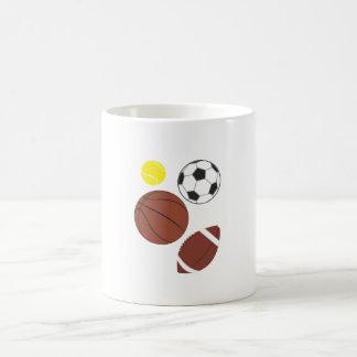 Various Sports Balls Mug