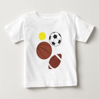 Various Sports Balls Tee Shirt