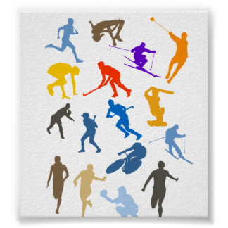 Various Sports Poster