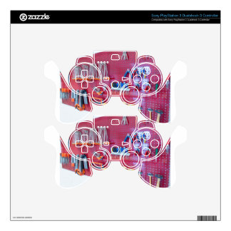 Various tools hanging at wall in high school PS3 controller skins
