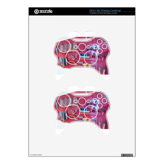 Various tools hanging at wall in high school xbox 360 controller skin
