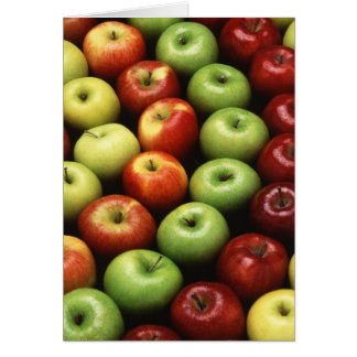 Various Types of Apples Card