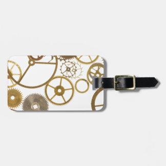Various Watch Cogs Bag Tag