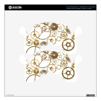 Various Watch Cogs Decal For PS3 Controller