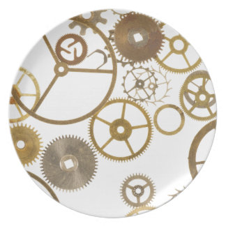 Various Watch Cogs Dinner Plate