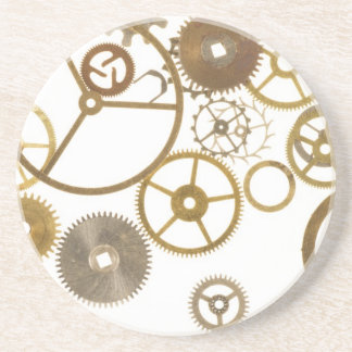 Various Watch Cogs Drink Coaster