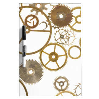 Various Watch Cogs Dry-Erase Board