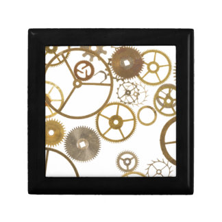 Various Watch Cogs Jewelry Box