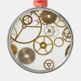 Various Watch Cogs Metal Ornament