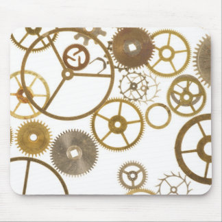 Various Watch Cogs Mouse Pad
