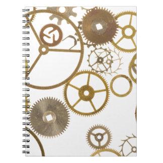Various Watch Cogs Notebook