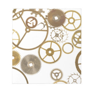 Various Watch Cogs Notepad