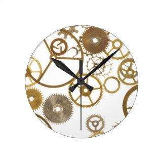 Various Watch Cogs Round Clock