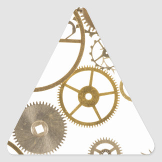 Various Watch Cogs Triangle Sticker
