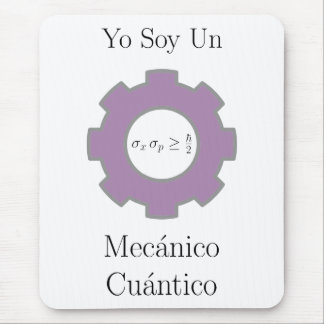 various, yo soy un mecánico cuántico, uncertainty mouse pad